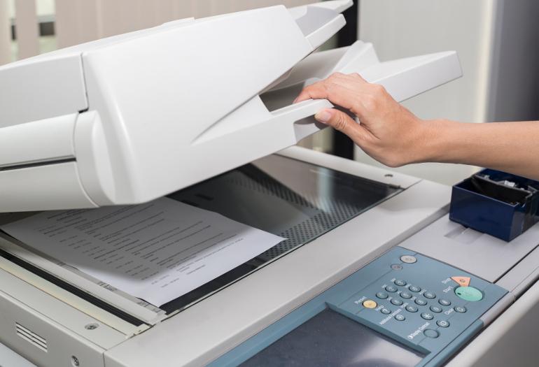 Stampa digitale fotocopie