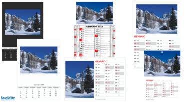 Calendari personalizzati 2019
